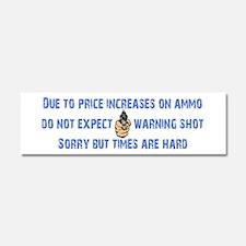 Warning Shot Car Magnet 10 x 3