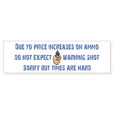 Warning Shot Car Sticker