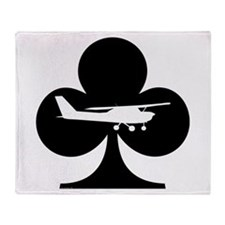 Flying Club Throw Blanket
