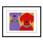 American Gothic Labs Large Framed Print