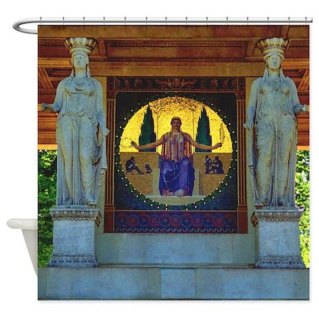 Greek Goddess Shower Curtain