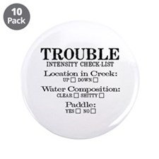 "Up Creek 3.5"" Button (10 pack)"