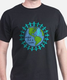 Ovarian Cancer United For A Cure T-Shirt