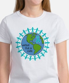 Ovarian Cancer United For A Cure Tee