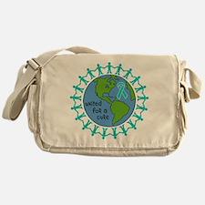 Ovarian Cancer United For A Cure Messenger Bag