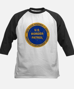 U.S. Border Patrol Kids Baseball Jersey