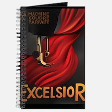 Vintage Excelsior Poster 5x8 Journal or Organizer