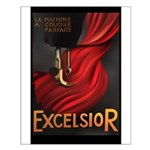 Vintage Excelsior Poster Small Poster
