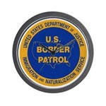 U.S. Border Patrol Wall Clock