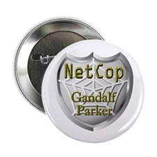 NetCop Gandalf Parker Button