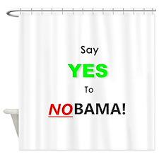 NOBAMA! Shower Curtain