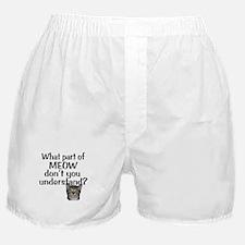 MEOW Boxer Shorts