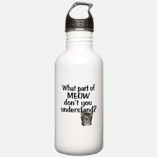 MEOW Water Bottle