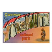 Cute Nationa parks Postcards (Package of 8)