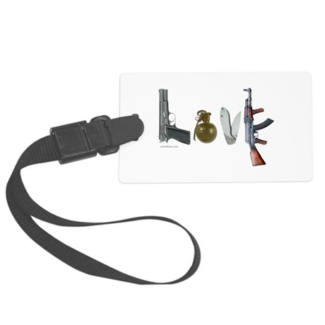 SECOND AMENDMENT Large Luggage Tag