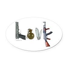 SECOND AMENDMENT Oval Car Magnet