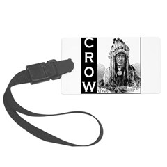 CROW INDIAN CHIEF Luggage Tag