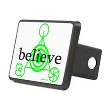 ALIEN CROP CIRCLE Hitch Cover