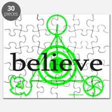 ALIEN CROP CIRCLE Puzzle