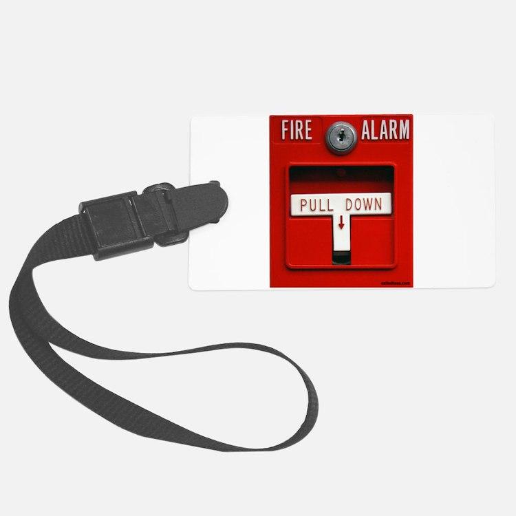FIRE ALARM Luggage Tag