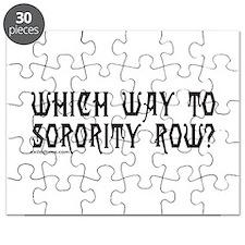 SORORITY ROW Puzzle