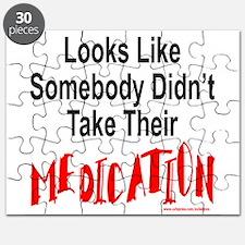 Cute Crazy meds Puzzle