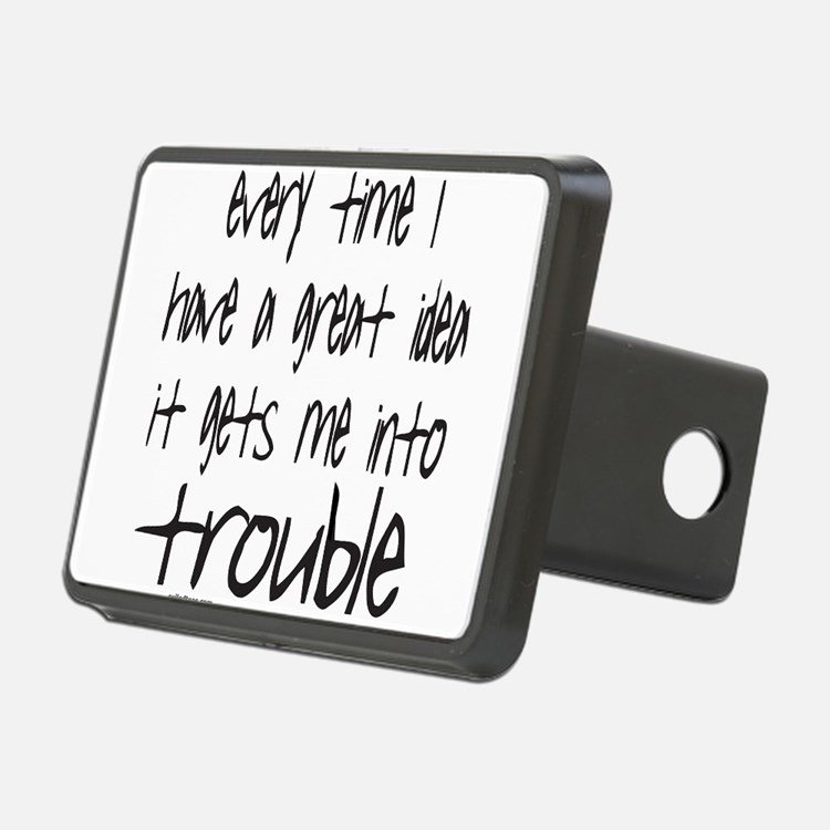TROUBLE Hitch Cover