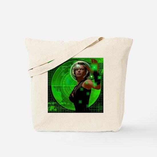 Green Screen Tote Bag