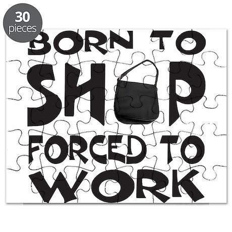 BORN TO SHOP Puzzle