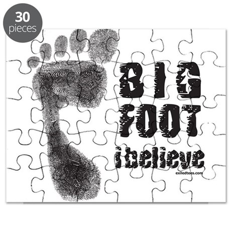 BIGFOOT/YETI Puzzle