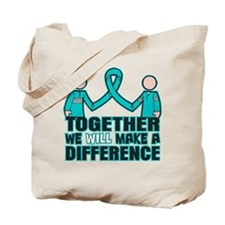 Ovarian Cancer Together Tote Bag