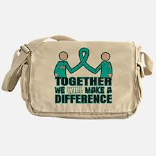 Ovarian Cancer Together Messenger Bag