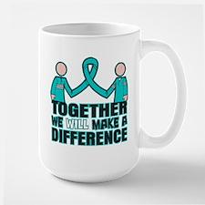 Ovarian Cancer Together Mug