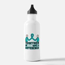 Ovarian Cancer Together Water Bottle