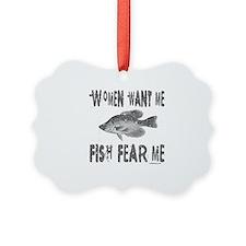 FISH FEAR ME Ornament