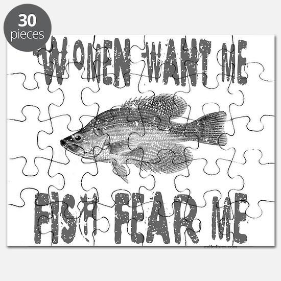 FISH FEAR ME Puzzle