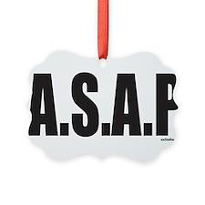 A.S.A.P. Ornament