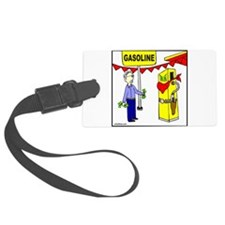 GAS PRICE Luggage Tag