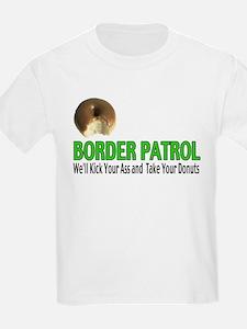 Border Patrol Kick Ass Kids T-Shirt