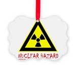 NUCLEAR HAZARD Picture Ornament