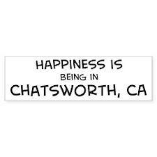 Chatsworth - Happiness Bumper Bumper Sticker