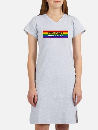 Funny Gay Women's Nightshirt