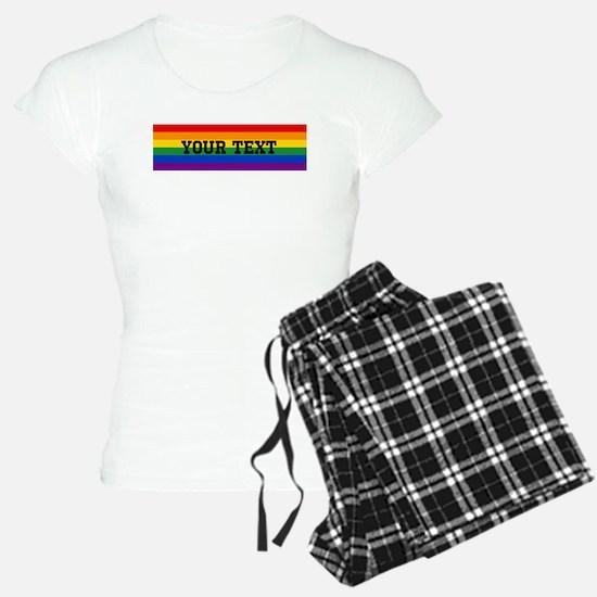 Personalize Rainbow Pajamas