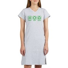 2-reduce_reuse_recycle.png Women's Nightshirt