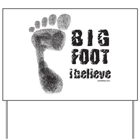 BIGFOOT/YETI Yard Sign