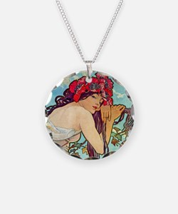 Mucha - Summer Necklace