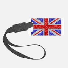 British Glam Luggage Tag