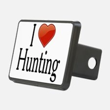 I Love Hunting Hitch Cover