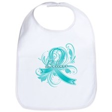 Ovarian Cancer Believe Bib