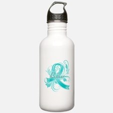 Ovarian Cancer Believe Sports Water Bottle
